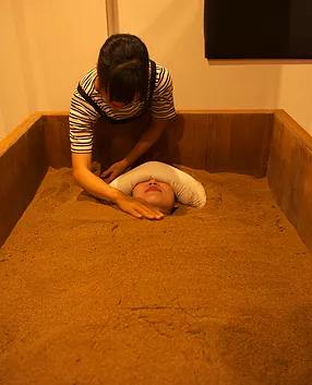 米ぬか酵素風呂 温